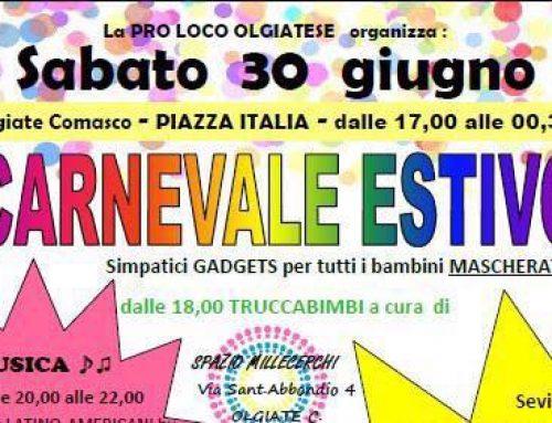 Carnevale Estivo Olgiate Comasco